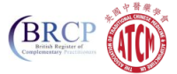 Logos of the Associations of Traditional Chinese Medicine and BRCP