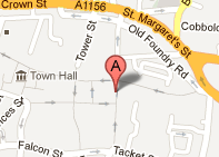 Map of Ipswich - Acupuncture Clinic